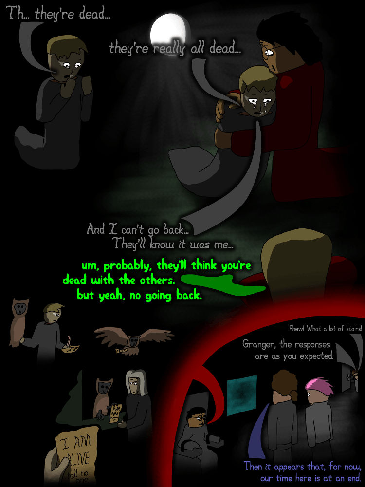 A comic page; see below for a transcript